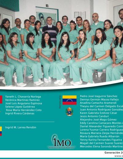 Generación IMO 2010 - 2012