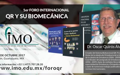 1er Foro Internacional QR y su Biomecánica