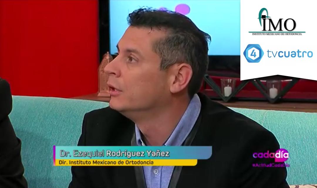 Entrevista al Instituto Mexicano de Ortodoncia (IMO) en TV4
