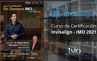 Curso de Certificación Invisalign – IMO 2021